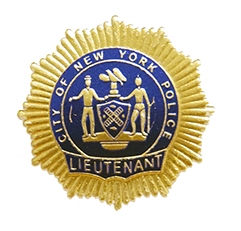 NYPD Foil Badge Samples